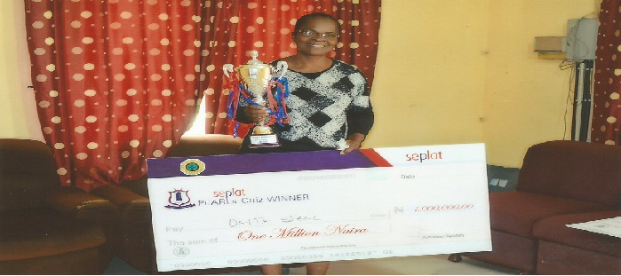 AWARD OF ONE MILLION NAIRA SEPLAT COMPETITION